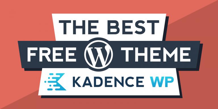 Kadence Best Free WordPress Theme