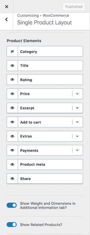 Kadence WooCommerce Single Product Layout Options