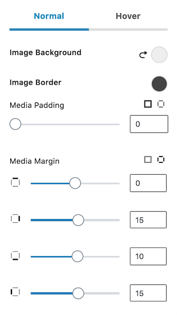 How to Add About the Author Element Kadence Blocks Media Settings 2