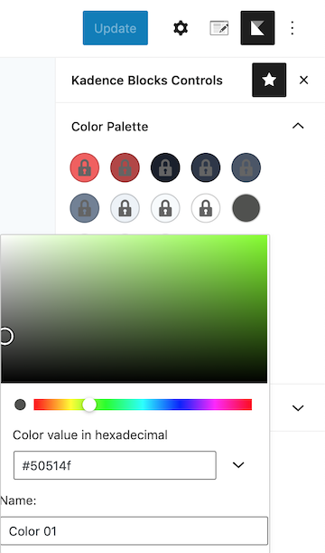 How to Add Additional Colors to Kadence Color Palette