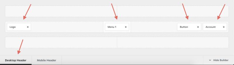 Free Blocksy Theme Header Builder Desktop Header Editing