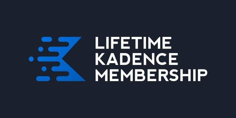 Lifetime Kadence Membership Promo Banner
