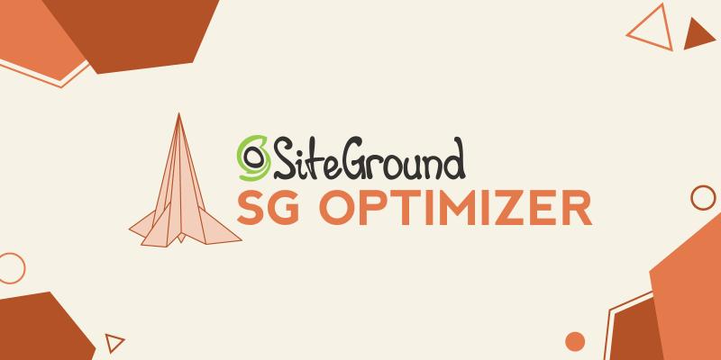 SiteGround SG Optimizer Promo Banner