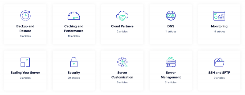 Cloudways Support Knowledge Base Server and Infrastructure Section