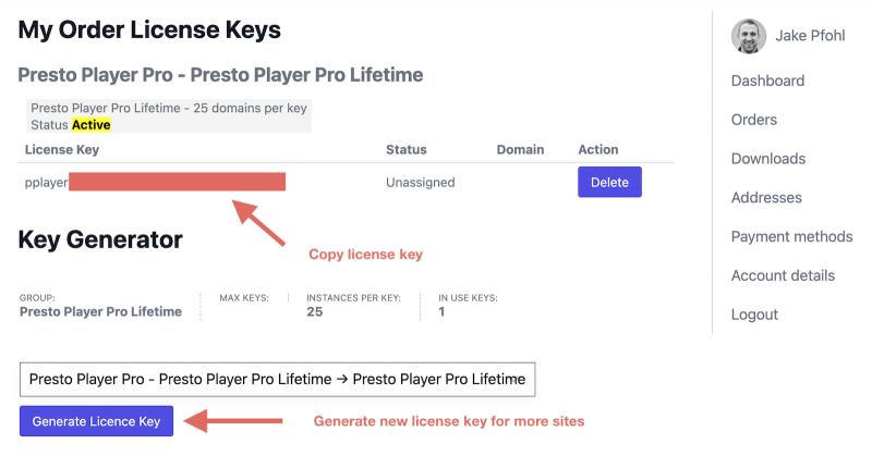 Presto Player Pro License Key and Generate License Key
