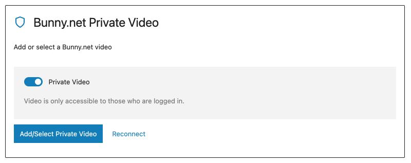 Presto Player Pro Tutorial Bunny Net Private Video Block