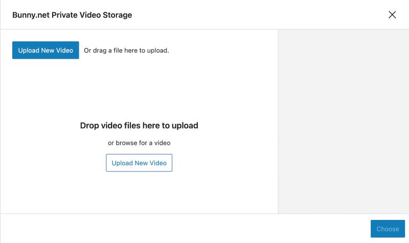 Presto Player Tutorial Bunny Net Private Video Storage Block Upload New Video