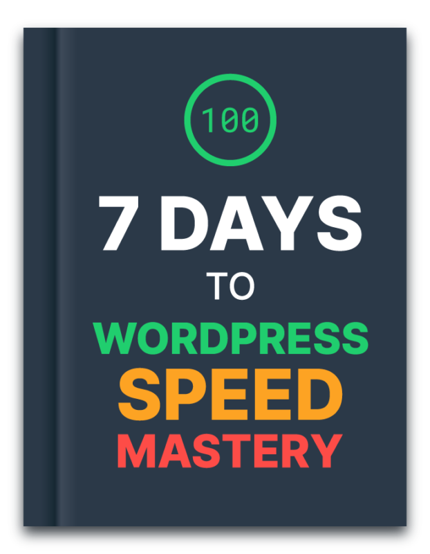 Start Blogging 101 7 Days to WordPress Speed Mastery Course Book