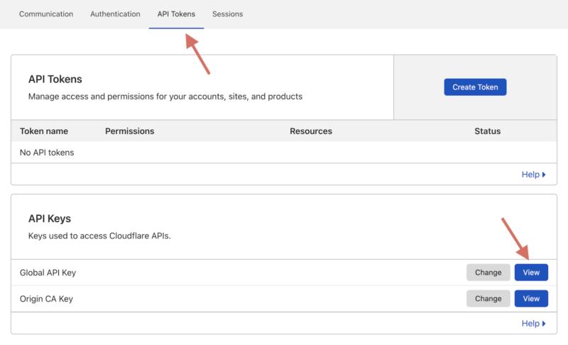How to Get Cloudflare Global API Key