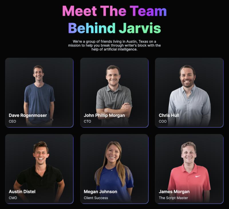 Meet the Team Behind Jarvis Artificial Intelligence