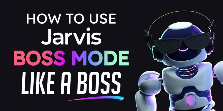 How to Use Jarvis Boss Mode Tutorial