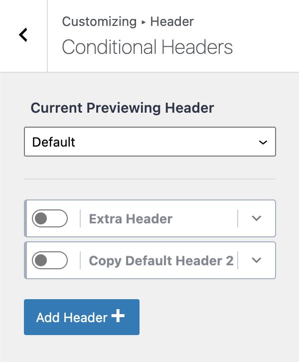 Kadence Conditional Headers Tutorial Copy of Default Header
