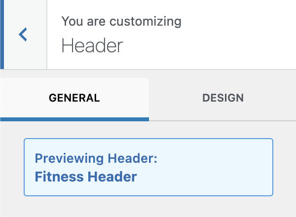 Previewing New Kadence Conditional Header Message
